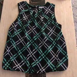 Liz Claiborne zipper back top